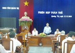 Ông Nguyễn Đức Chính được bầu làm Chủ tịch UBND tỉnh Quảng Trị