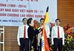 Đại học Kiến trúc Hà Nội đón nhận Huân chương Lao động hạng Nhì