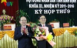 Ông Hồ Quốc Dũng được bầu giữ chức Chủ tịch UBND tỉnh Bình Định