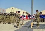 Lính Anh cuối cùng rút khỏi miền Nam Afghanistan