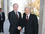 Tổng Bí thư kết thúc tốt đẹp chuyến thăm chính thức LB Nga