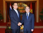 Chủ tịch Quốc hội tiếp Thủ tướng Vương quốc Thái Lan