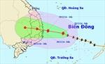 Bão số 4 cách bờ biển Phú Yên–Khánh Hòa 240km