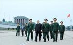 Kiểm tra công tác tu bổ Lăng Chủ tịch Hồ Chí Minh
