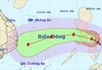 Sáng sớm mai, bão Hagupit vào phía Đông Biển Đông
