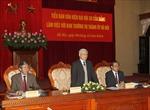 Đảng bộ Hà Nội cần mẫu mực, làm gương cho cả nước