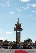 Khánh thành tượng đài anh hùng liệt sỹ Campuchia - Việt Nam