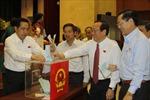 TP Hồ Chí Minh lấy phiếu tín nhiệm đối với 18 chức danh