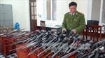 Thu giữ trên 250 súng hơi cồn tự chế và xung kích điện