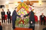 Đồng chí Nguyễn Thiện Nhân chúc Giáng sinh tại Tòa Giám mục Xuân Lộc