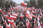 Tuần hành phản đối kết quả bầu cử ở Ba Lan