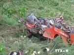 Quảng Nam: Ô tô lao vực, 5 người thiệt mạng