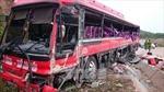Khởi tố vụ xe container đâm xe khách tại Quảng Ninh