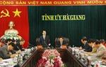 Phó Thủ tướng Vũ Văn Ninh làm việc tại Hà Giang