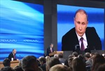 Tổng thống Putin: Nga sẽ thoát khỏi khó khăn hiện nay