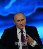 Tổng thống Putin: Không ai có thể hăm dọa nước Nga