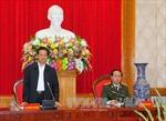 Thủ tướng Nguyễn Tấn Dũng làm việc với Đảng ủy Công an Trung ương