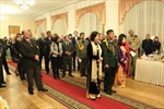 Kỷ niệm 70 năm ngày thành lập QĐND Việt Nam tại Ukraine