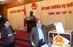 Đảng Đoàn Quốc hội lấy phiếu tín nhiệm đối với 57 chức danh