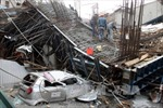 Trả lại giao thông thông suốt sau sự cố sập dầm đường sắt Cát Linh