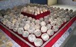 Phát hiện ổ đạn đá lớn ở Thanh Hóa
