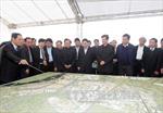 Thủ tướng kiểm tra tiến độ các công trình lớn ở Hà Nội