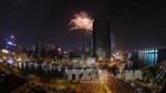 Rực rỡ pháo hoa chào năm mới tại TP Hồ Chí Minh