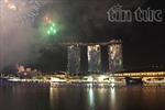 Tưng bừng pháo hoa chào Năm mới ở Singapore