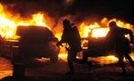 940 xe ôtô bị đốt trong đêm đón Năm mới ở Pháp