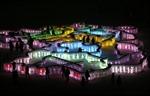 Rực rỡ thành phố băng ở Trung Quốc