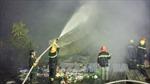Cà Mau: Chợ Thới Bình cháy do chập điện
