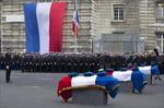 Lễ tang 3 cảnh sát bị khủng bố bắn chết ở Paris