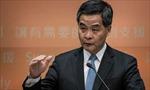 Ông Lương Chấn Anh phát biểu về chính sách năm 2015 của Hong Kong