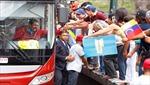 Dân chúng Venezuela chào đón Tổng thống Maduro trở về