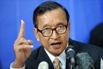 Quốc hội Campuchia công nhận ông Sam Rainsy là thủ lĩnh phe thiểu số