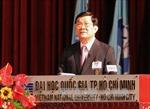 Chủ tịch nước dự kỷ niệm 20 năm Đại học Quốc gia TP.HCM