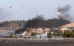 NATO điều tra vụ F-16 rơi tại Tây Ban Nha