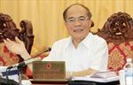 Chủ tịch Quốc hội Nguyễn Sinh Hùng: Đoàn kết, đổi mới, hoàn thành thắng lợi nhiệm vụ năm 2015