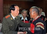 Đồng chí Trần Đại Quang thăm Bắc Kạn