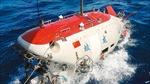 Tàu lặn Giao Long hỏng động cơ khi đang khảo sát