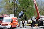 Xe buýt Ukraine gặp nạn tại Nga, 9 người tử vong