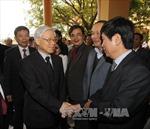 Tổng Bí thư Nguyễn Phú Trọng thăm làm việc tại tỉnh Quảng Bình