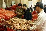 Bảo đảm an toàn thực phẩm dịp Tết Nguyên đán
