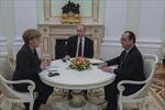 Tổng thống Hollande: Sáng kiến Pháp-Đức là nỗ lực cuối cùng để tránh chiến tranh