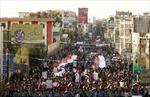 Biển người phản đối phiến quân Houthi tiếm quyền