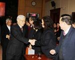Tổng Bí thư chúc Tết Văn phòng Trung ương Đảng
