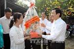Chủ tịch nước Trương Tấn Sang thăm và chúc Tết tại huyện Củ Chi