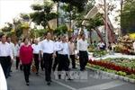 Thủ tướng đến thăm đường hoa Nguyễn Huệ