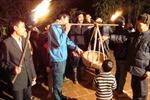 Lễ gọi gạo - nét đẹp đón giao thừa ở làng cổ Phúc Lễ