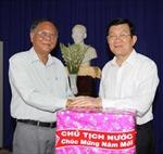 Chủ tịch nước thăm, chúc Tết tại Tây Ninh, Bình Dương
